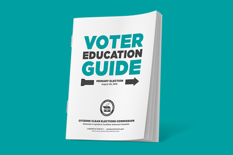 Primary Voter Education Guide Image