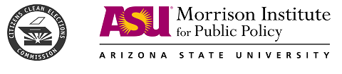 Picture of Clean Elections and ASU Morrison Institute Logo