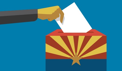 Arizona Ballot Box Banner