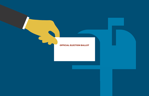 Ballot By Mail Banner.